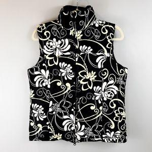 ATHLETA Floral Down Puffer Vest